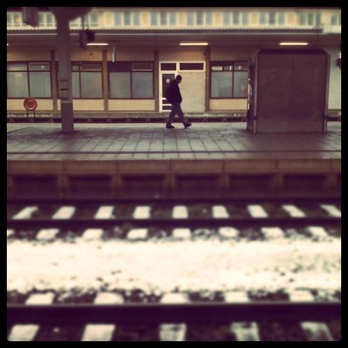 Bahnhof.