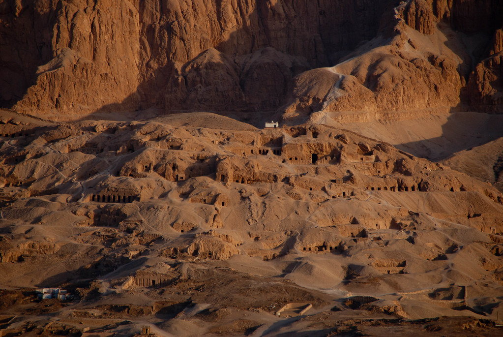 Tombs in region of Valley of the Kings