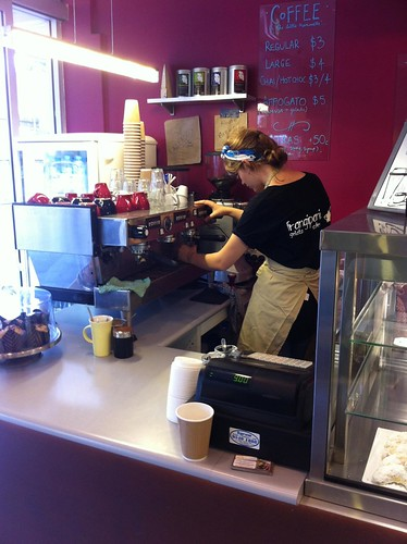 where the magic happens - frangipani: gelato, coffee, dessert - cronulla