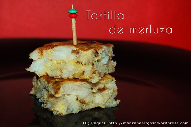 Tortilla de merluza