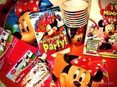 Minnie party kit