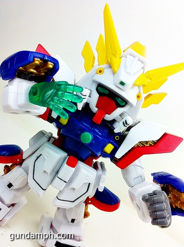 SD Archive Shining Gundam Unboxing Review (33)