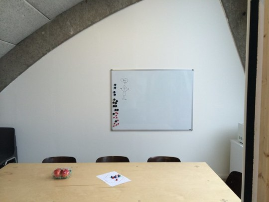 Whiteboard installation: success