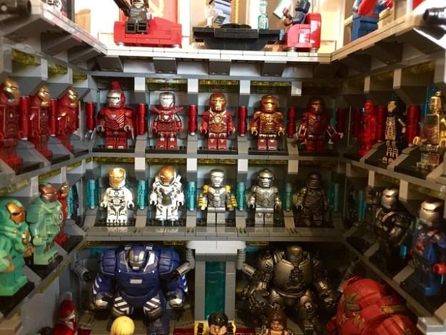 Lego Ironman Lab