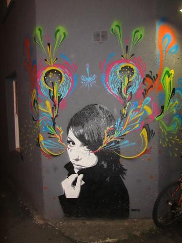 Street art, Cheltenham Place, Brighton