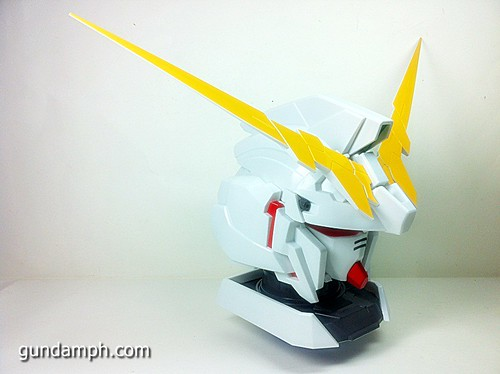 Banpresto Gundam Unicorn Head Display  Unboxing  Review (24)