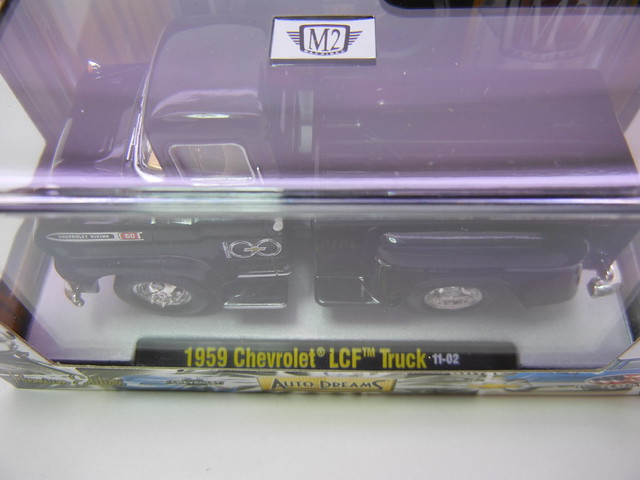 M2 AUTO DREAMS 100 YEARS  1959 CHEVROLET LCF TRUCK (2)
