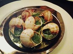 Escargot de Bourgogne au beurre d'ail, Brasserie Gavroche, 66 Tras Street, Singapore