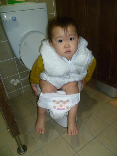 1Y10M 學上廁所