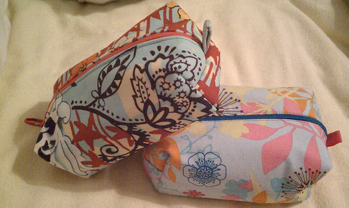 Boxy pouches for my nieces by imaginaryplanets