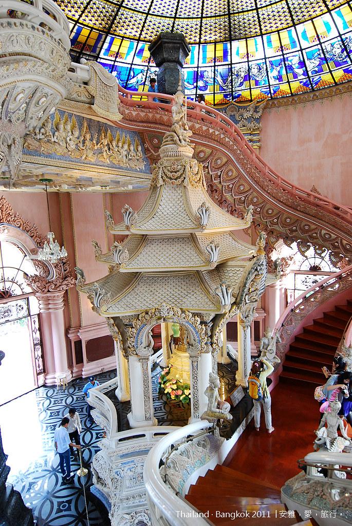 《曼谷景點推薦》三頭象神博物館:震撼力百分百特色建筑   愛旅博客
