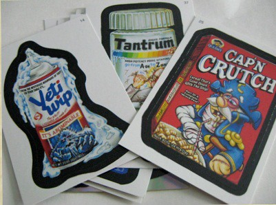 stickers by Junk Food Critic