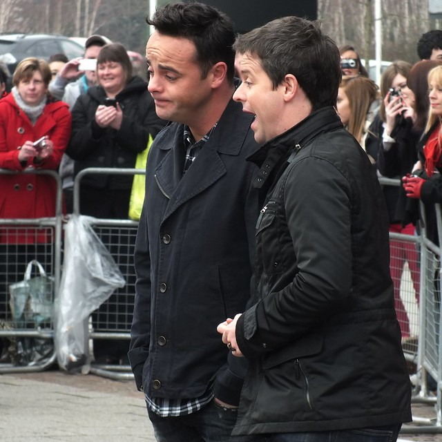 Ant and Dec at The Britains Got Talent auditions