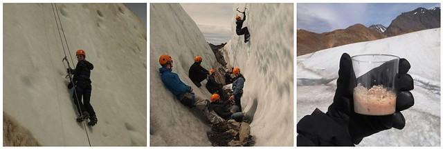 Viedma Glacier Climbing