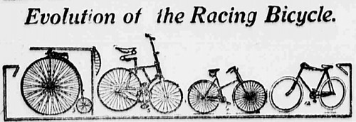 From Wheels to Bikes: The Evolution of the Racing Bicycle