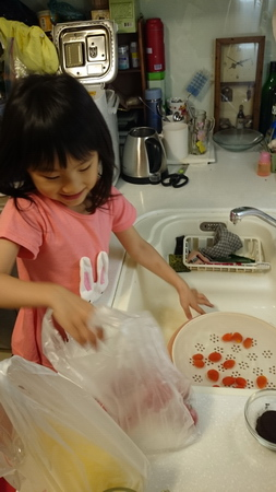 我們相親相愛: 洗番茄廣告詞