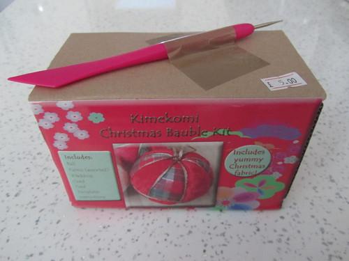 Japan Crafts - Kimekomi Christmas Bauble Kit