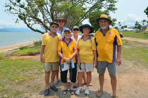 Cardwell Lions - supporting the launch of Cyclone Yasi out stories.
