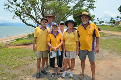 Cardwell Lions - supporting the launch of Cyclone Yasi our stories.