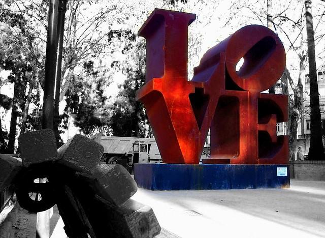 All You Need Is Love B&W por Jo U