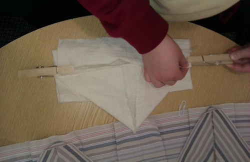 Folding workshop with primary school