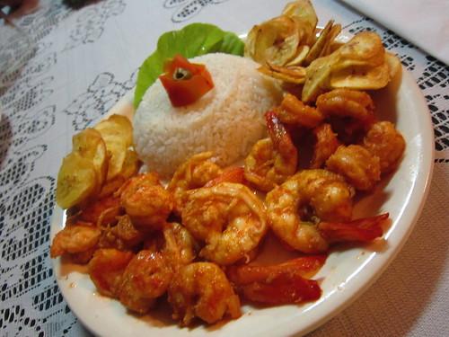 2/1/2012 - Jantar na Casa da Raquel (Cienfuegos/Cuba)