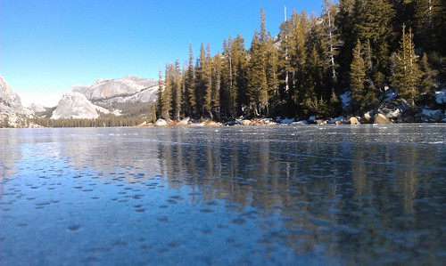 Tenaya Lake (frozen)