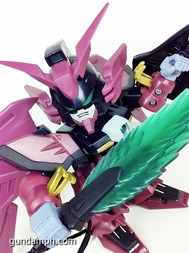 SD Gundam Online Capsule Fighter EPYON Toy Figure Unboxing Review (60)
