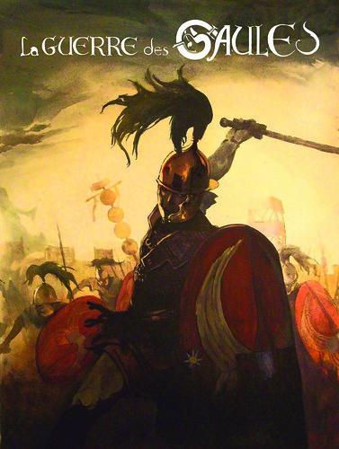 La guerre des Gaules // ex-libris by Pegasus & Co
