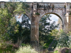 Acueducto de San Telmo en Málaga