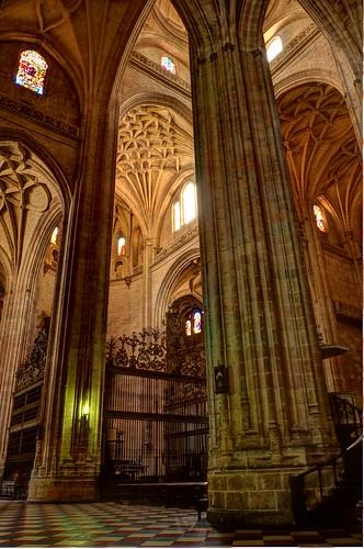 Catedral en Segovia, (HDR)