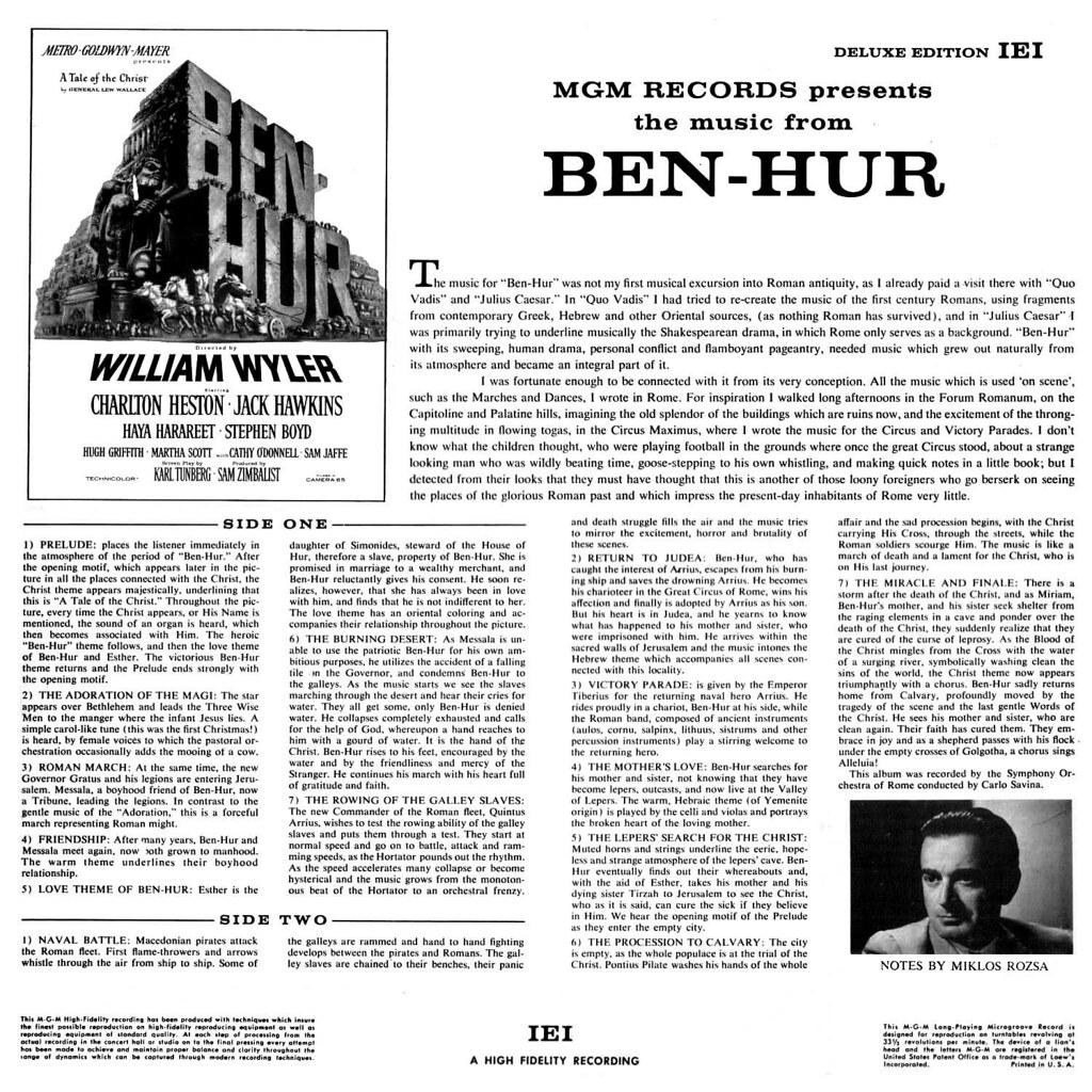 Miklós Rózsa - Ben-Hur