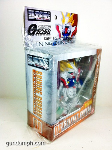 SD Archive Shining Gundam Unboxing Review (4)