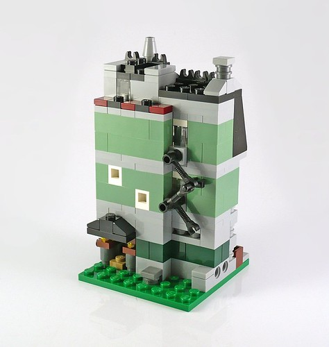 (mini) recenzja: 10230 Mini Modulars (Green Grocer)