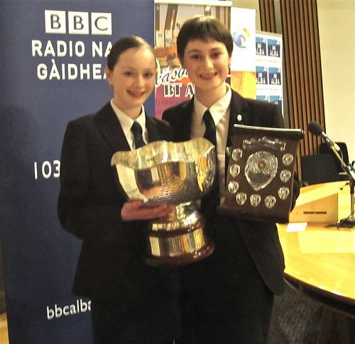 National Gaelic Debate Winners 2011!