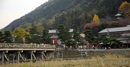 渡月橋 Togetsukyo bridge
