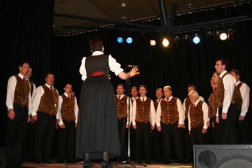 MGV Kaning mit Chorleiterin Burgi Leeb