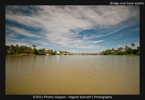 Bridge over back waters