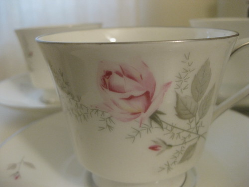 Crown Bavaria Cups and Saucers