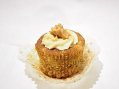 Peanut Butter + Banana cupcake. Cupcake Engineer, Cluny Court