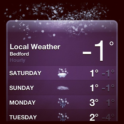 And it is!!! #uksnow #mk41