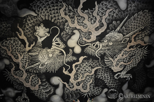 Kenninji-temple 建仁寺 Twin dragons