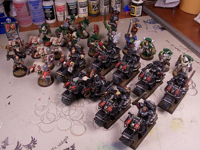 Dark Angel's Army, commision - Ejército de Ángeles Oscuro, sencago-1.jpg