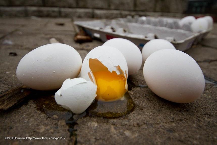 The yolk's on me