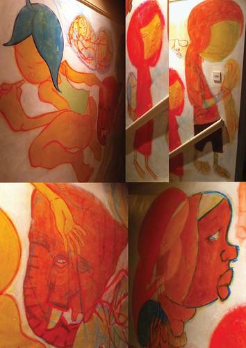 new murales detail by kiboko HachiYon