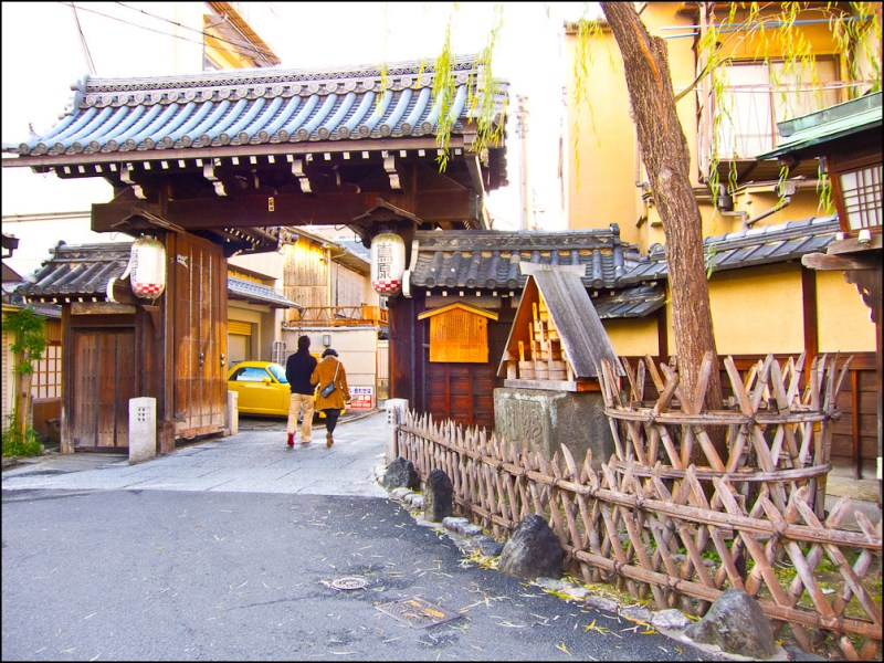 Puerta de entrada a Shimabara