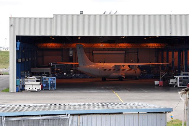 AIR FORMATION hangar 25/01/2012.