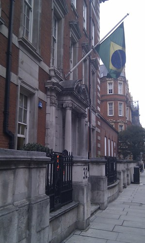 B of the BRICs with UKTI and Intellect at the embassy of Brazil in London