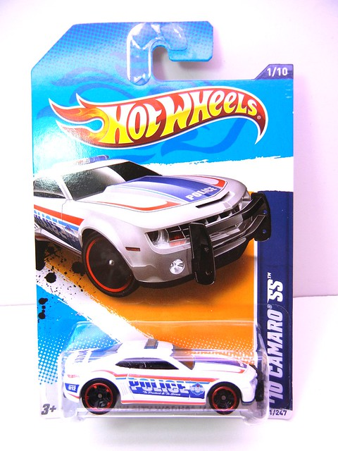 hot wheels '10 camaro ss police