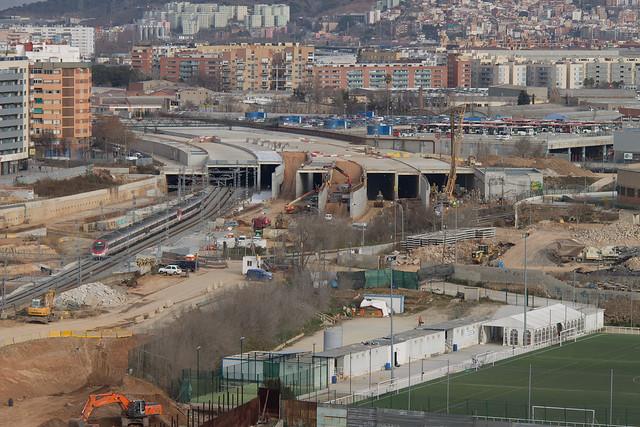 Conjunto de viales en la zona de Sant Andreu - 8-02-12